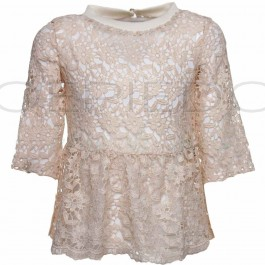 PatriziaPepe top goud lace