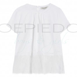 TwinSet blouse offwhite lace