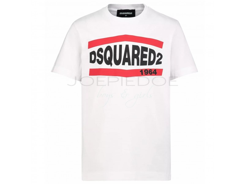 DSquared2 tshirtKM wit relax