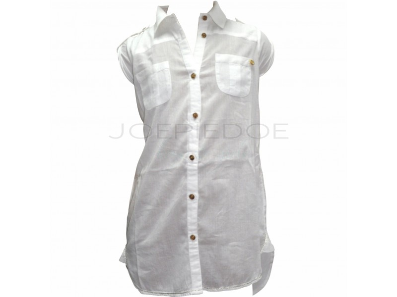 Guess tuniekblouse roomwit