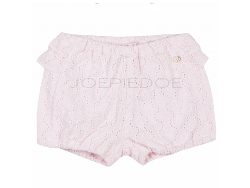 Lili shorts rose broderie