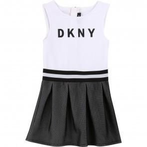 DKNY jurk zwart/wit logo