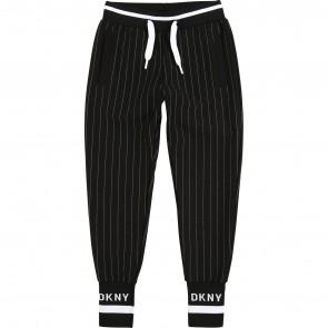 DKNY broek zwart streep