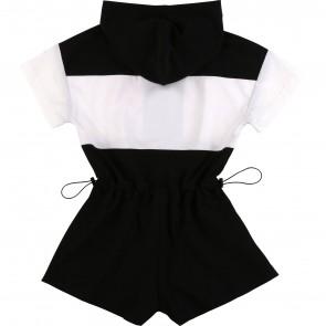 DKNY jumpsuit zwart NY