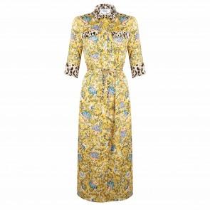 Jacky jurk geel flowers