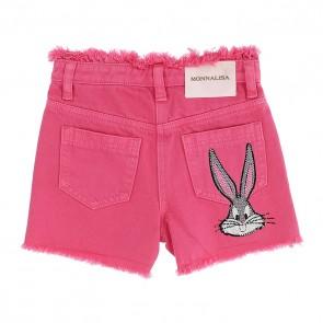Monnalisa bermuda roze Bunny