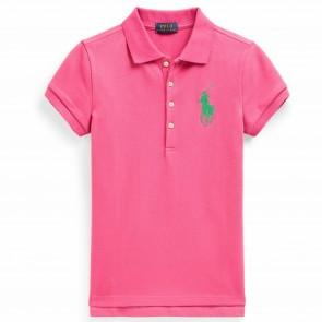 RalphLauren polo roze logo
