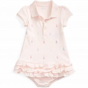 RalphLauren jurk roze polo