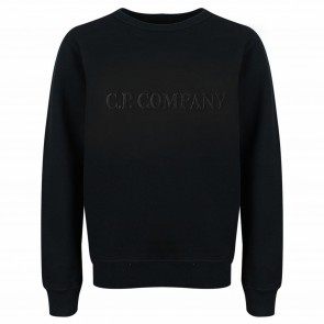 CPCompany sweat zwart borduur