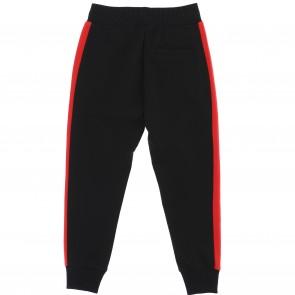 Monnalisa sweatbroek zwart rood
