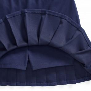 RalphLauren rok blauw plisee