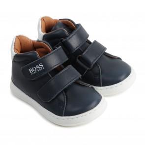Boss schoenen blauw wit