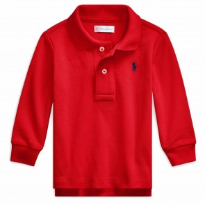 RalphLauren polo rood LM