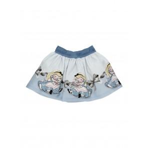 Monnalisa rok blauw Alice