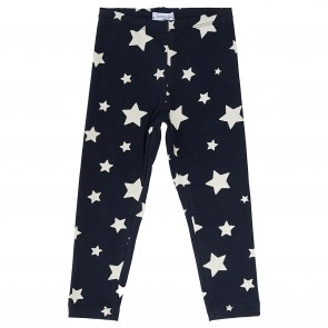 Monnalisa legging blauw sterren