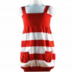 Iceberg jurk rood/wit