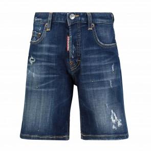 DSquared2 bermuda jeans destroyed