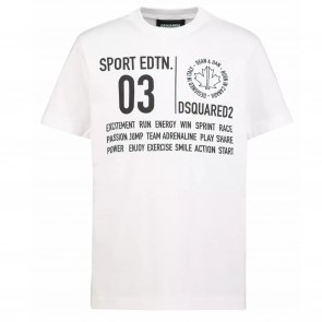 DSquared2 tshirtKM wit 03