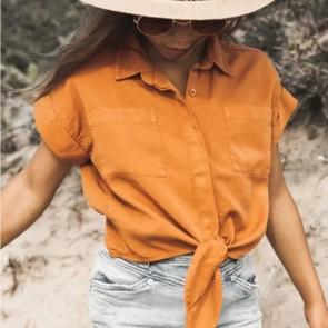 CircleofTrust blouse roestbruin bobby