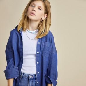 LesCoyotesdeParis blouse jeans oversized