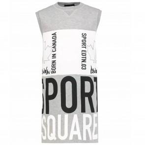 DSquared2 jurk grijs SPORT