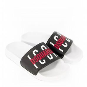 DSquared2 slippers zwart icon