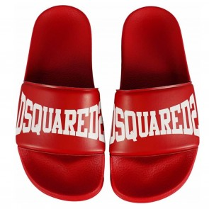 DSquared2 slippers rood logo