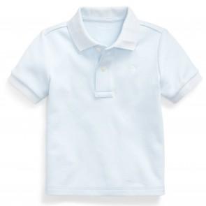 RalphLauren polo lichtblauw logo