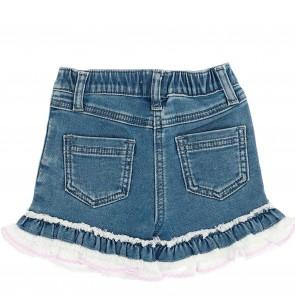 Monnalisa bermuda jeans daisy