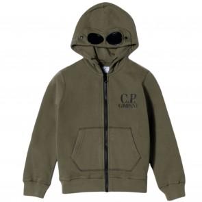 CPCompany sweatvest groen hooded