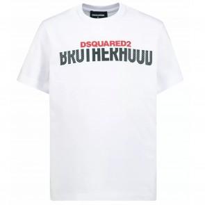 DSquared2 tshirtKM wit brotherhood