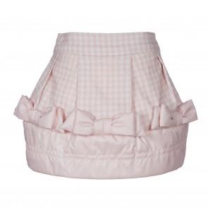 LapinHouse rok roze pied-de-poule