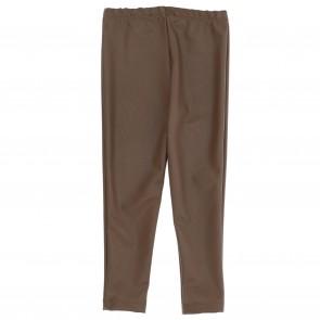 Monnalisa legging bruin lederlook