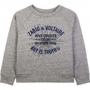 Zadig&Voltaire sweat grijs ART