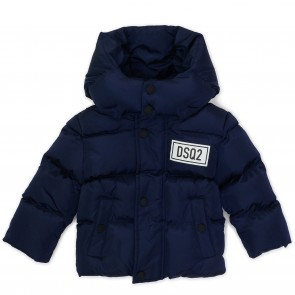 DSquared2 winterjas donkerblauw sported04