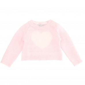 Monnalisa pull roze hart
