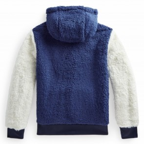 RalphLauren sweat blauw fleece