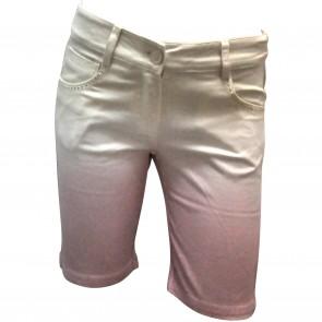 MissBlumarine bermuda beige/roze