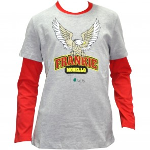 FrankieMorello shirt grijs Eagle