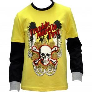 FrankieMorello shirt geel