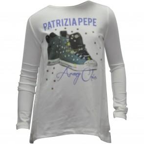 PatriziaPepe shirt roomwit Sneakers