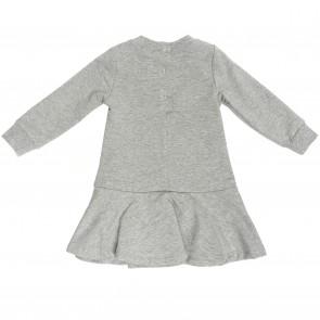 Monnalisa jurk grijs Kitty