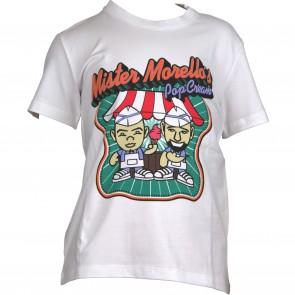 FrankieMorello tshirt wit popcream