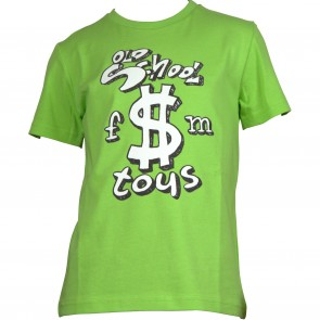 FrankieMorello tshirt groen dollar