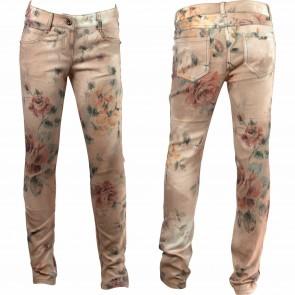 MissBlumarine broek oudrose flower
