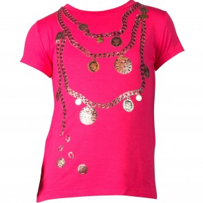 Paesaggino tshirt rose Necklace