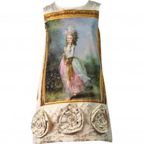 Paesaggino jurk multi