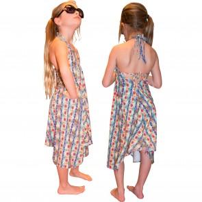 PilyQ jurk multi streep