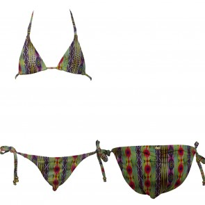 PilyQ bikini multi streep