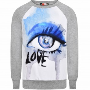 MSGM sweat grijs Eye